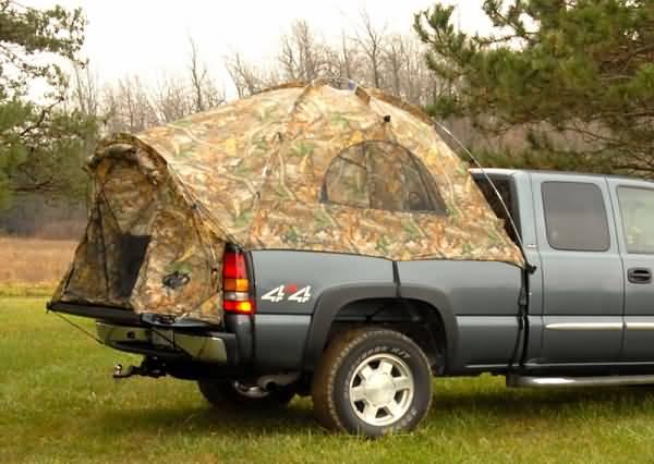 Camo Sportz Truck Tent III- No Rain-Fly & Sportz Truck Tent III NEW For