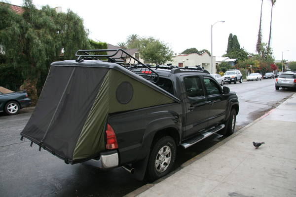 Tonneau Cover Tents