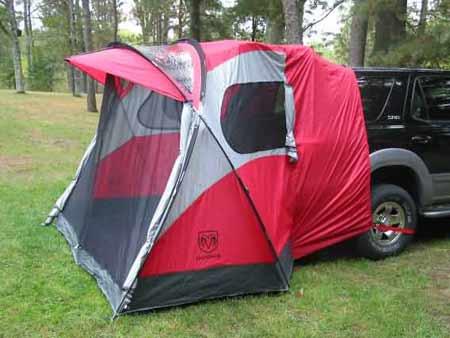 tailgater suv tent by dodge. Black Bedroom Furniture Sets. Home Design Ideas