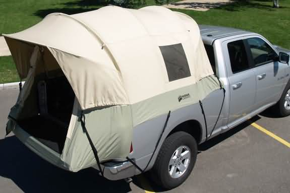 Top View & Canvas Truck Tent